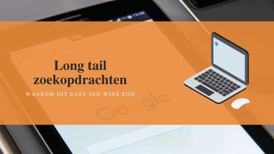 Wat zijn long tail zoekopdrachten?