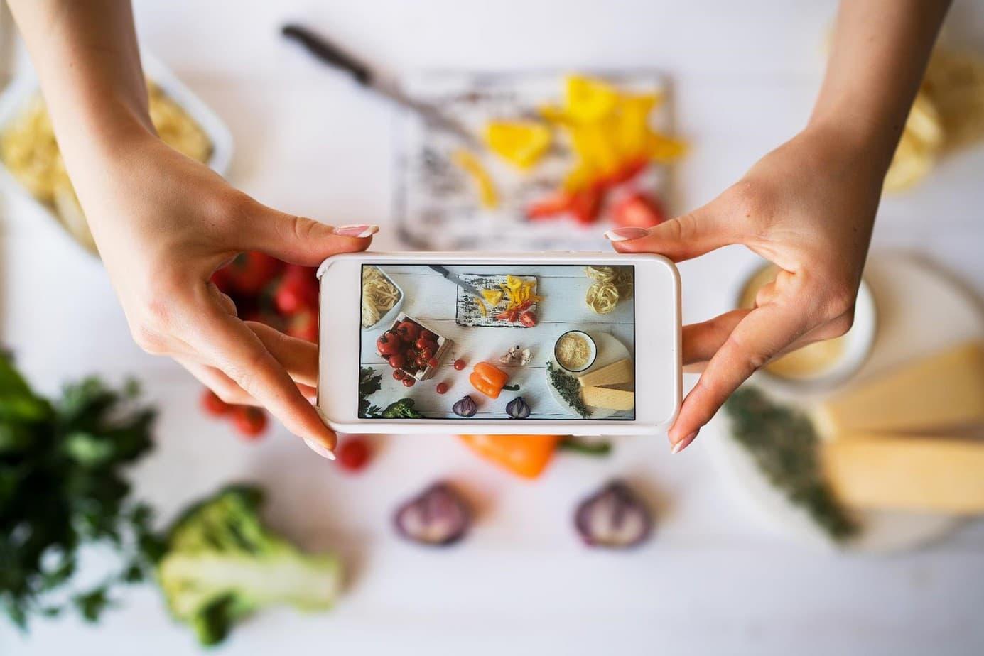 Food bloggen